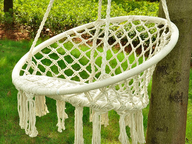 Large Macrame Swing Chair Crazy Sales We Have The Best Daily Deals Online