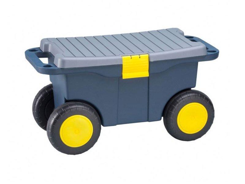 Garden Cart Trolley Seat Storage Bin Crazy Sales We Have The Best Daily Deals Online