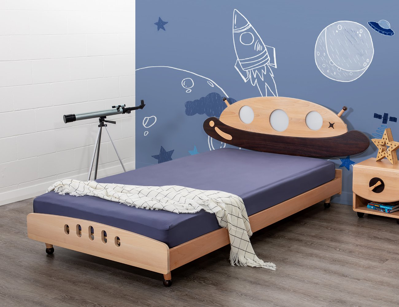 UFO King Single Bed Frame