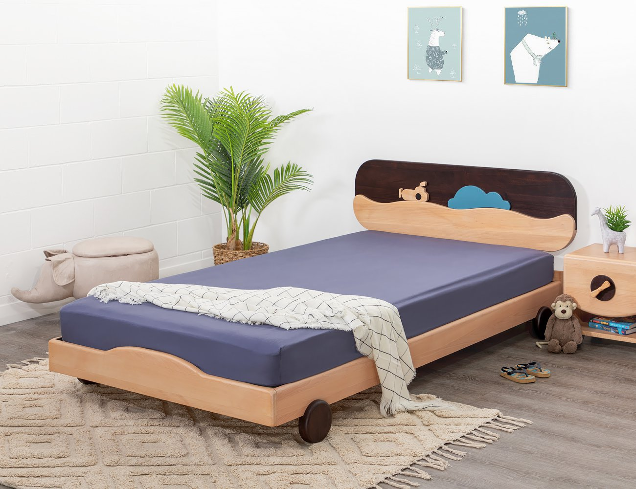 Submarine King Single Bed Frame