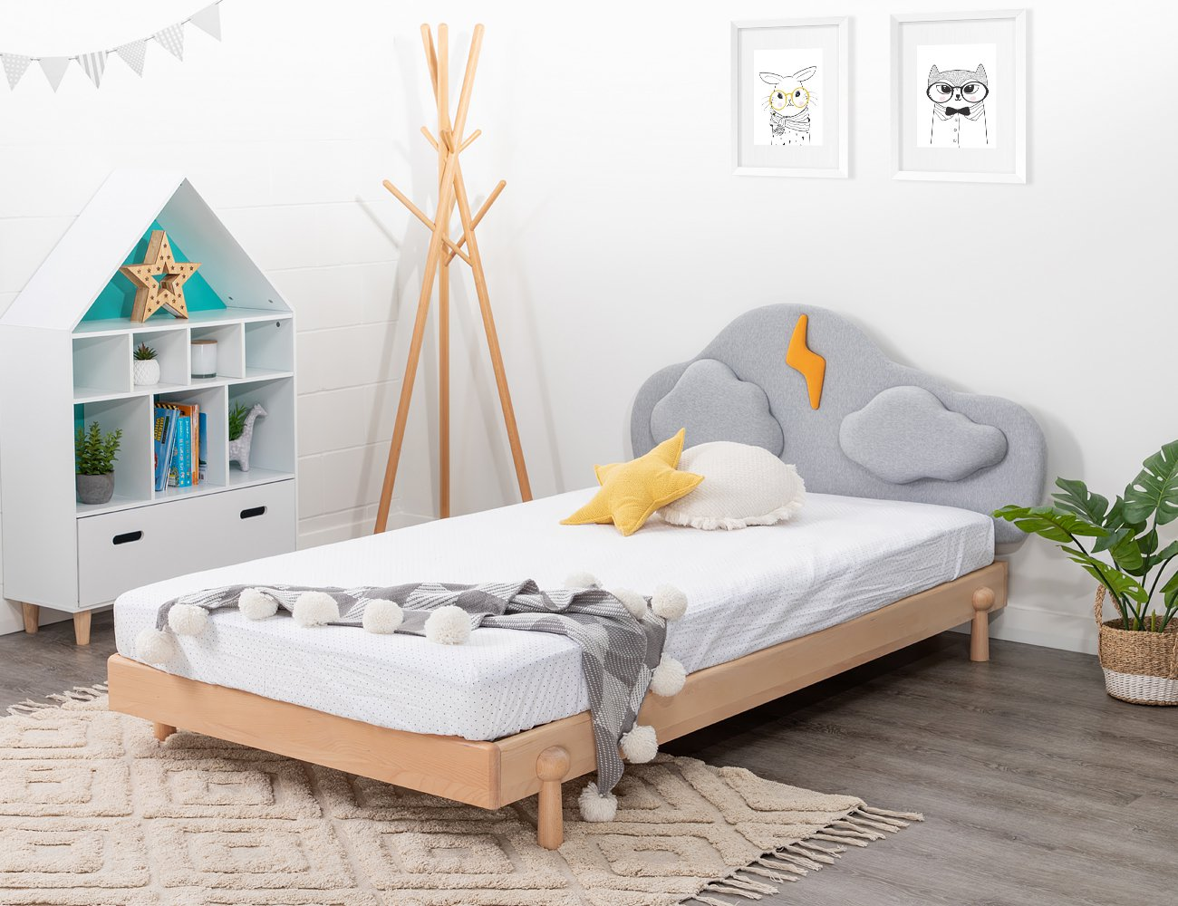 Cloud King Single Bed Frame