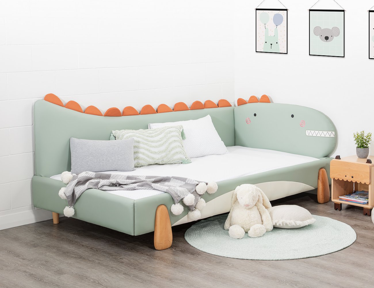 Dinosaur Single Bed Frame