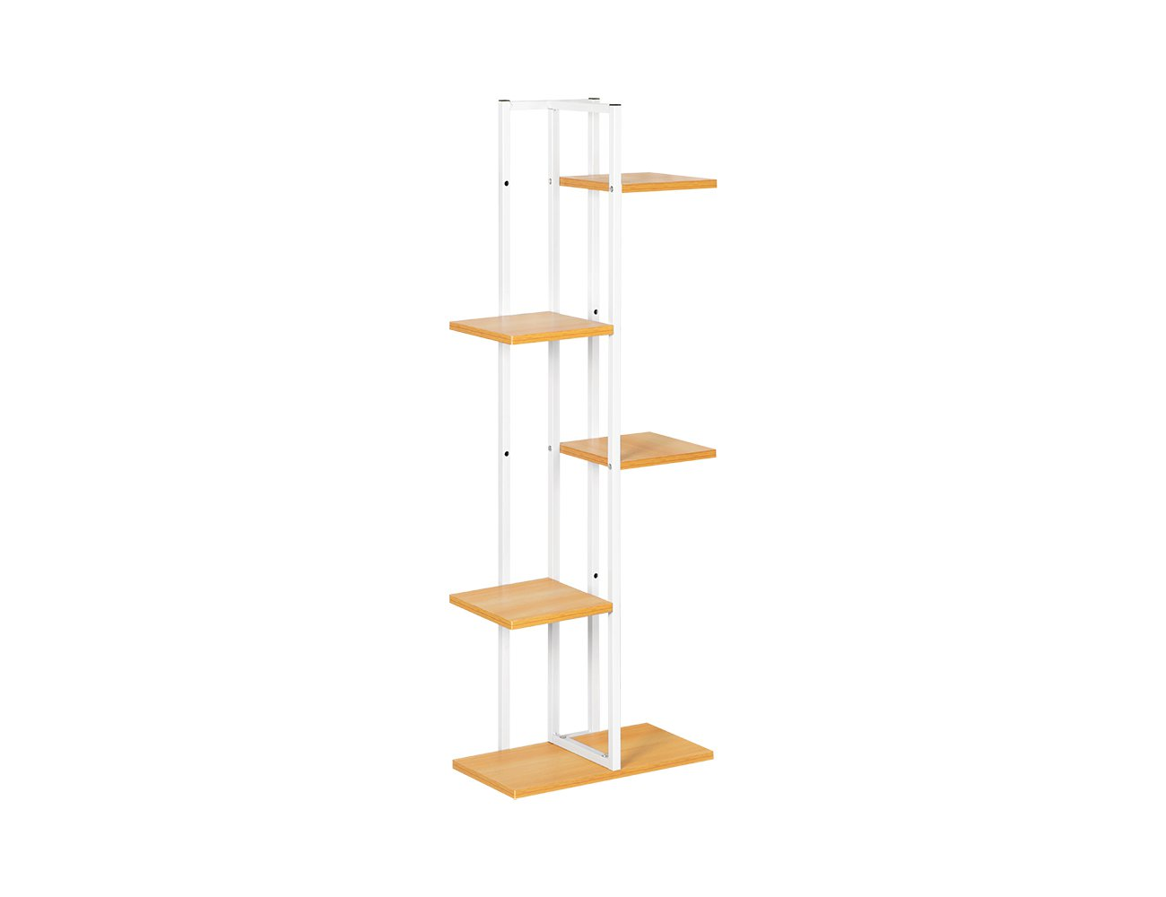 5-Level Flower Stand - White